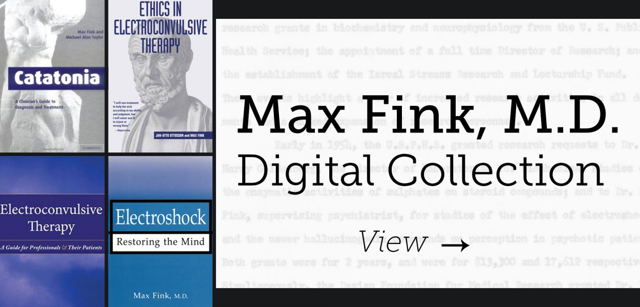 Max Fink Papers