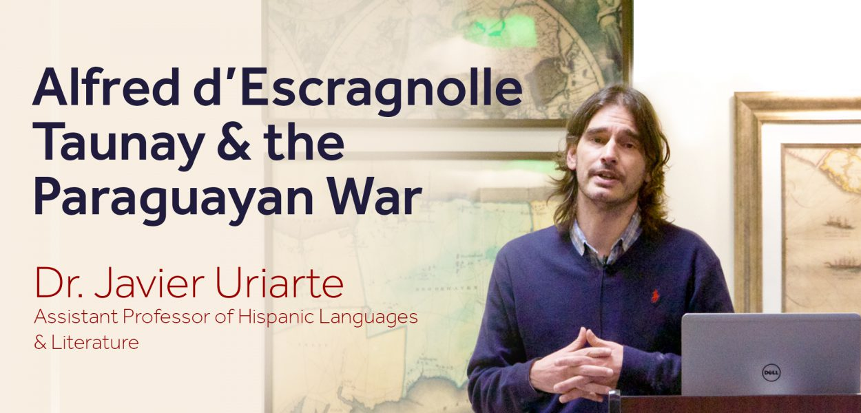 Dr Javier Uriarte lecture