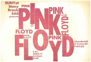 Pink Floyd poster, 1970.