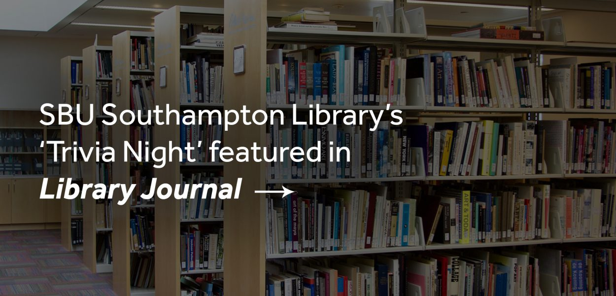 Southampton Library Trivia night featured in Library Journal