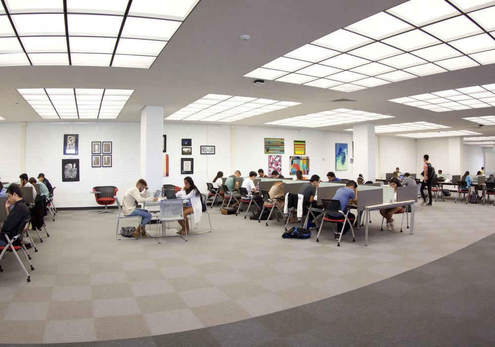 Redesigned library spaces