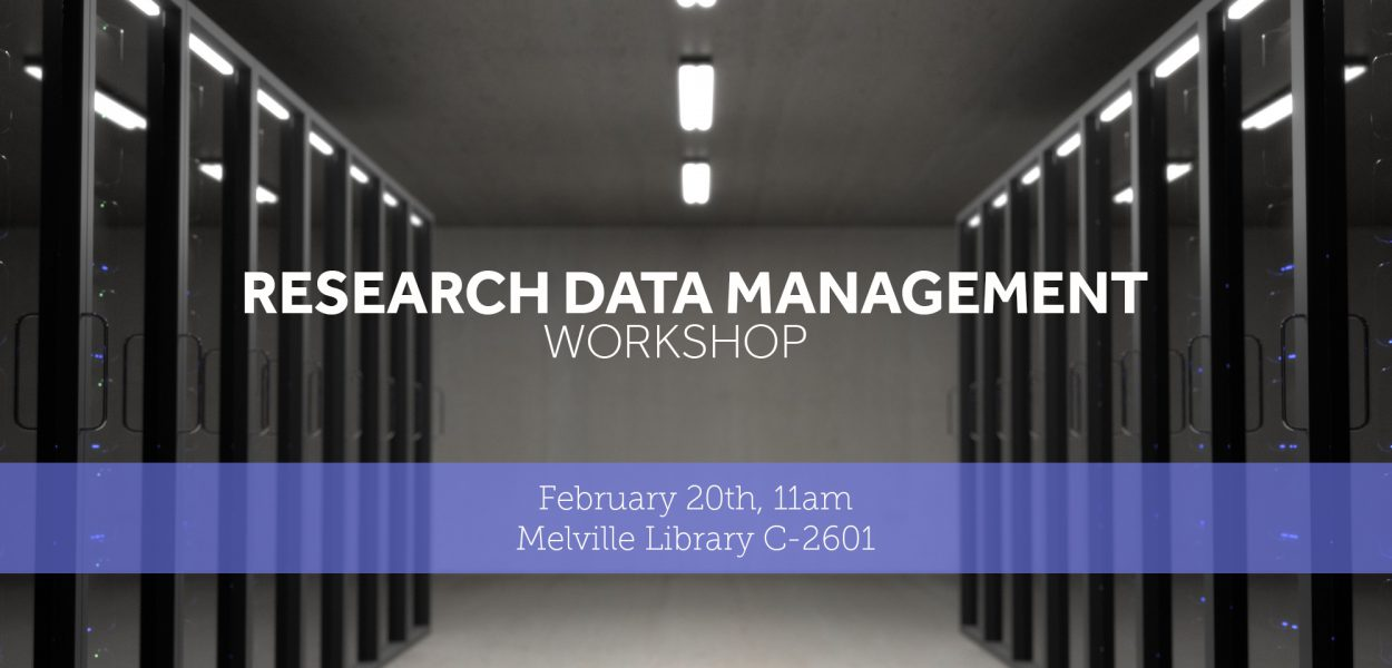 Research data management workshop