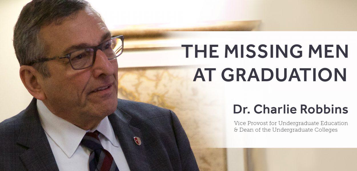Charlie Robbins on The Missing Men at Graduation