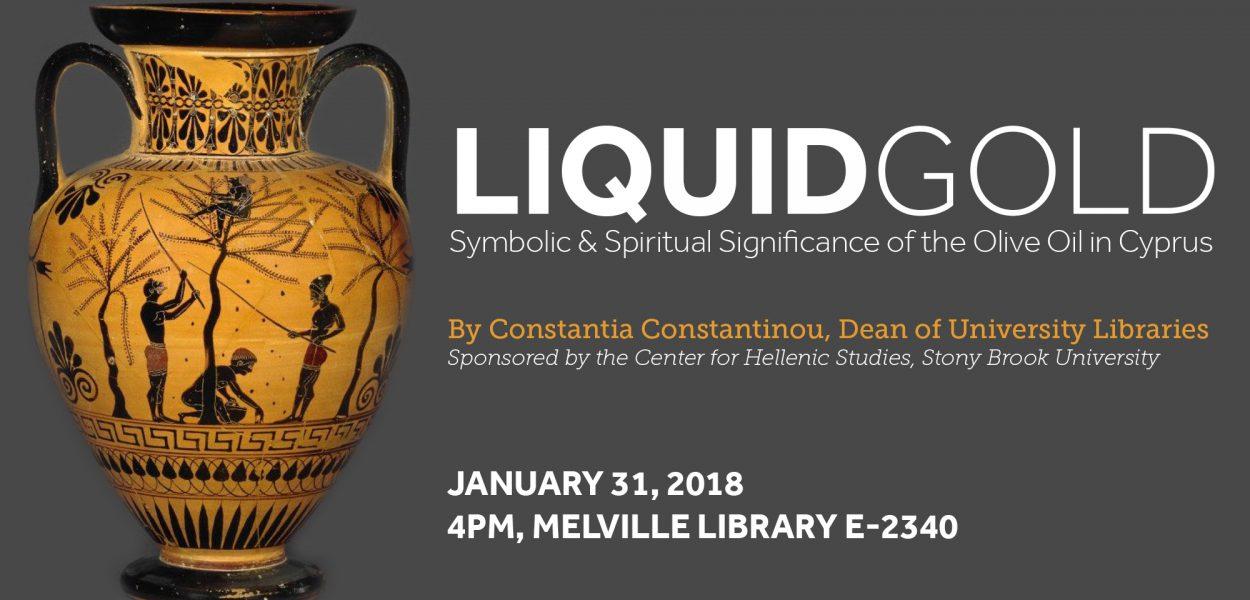 Liquid Gold lecture by Constantia Constantinou