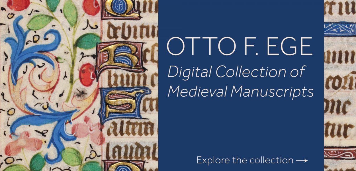 Otto F Ege digital collection