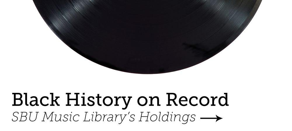 Black history on record