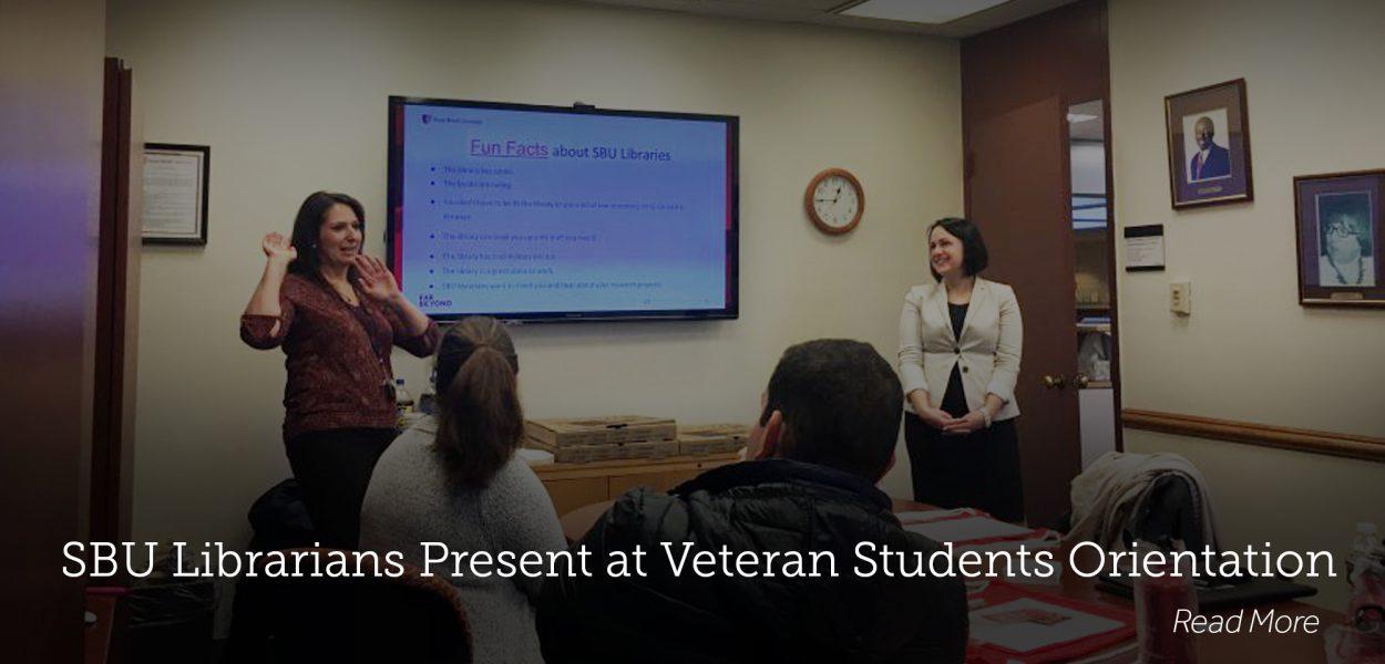 Veteran Student Orientation