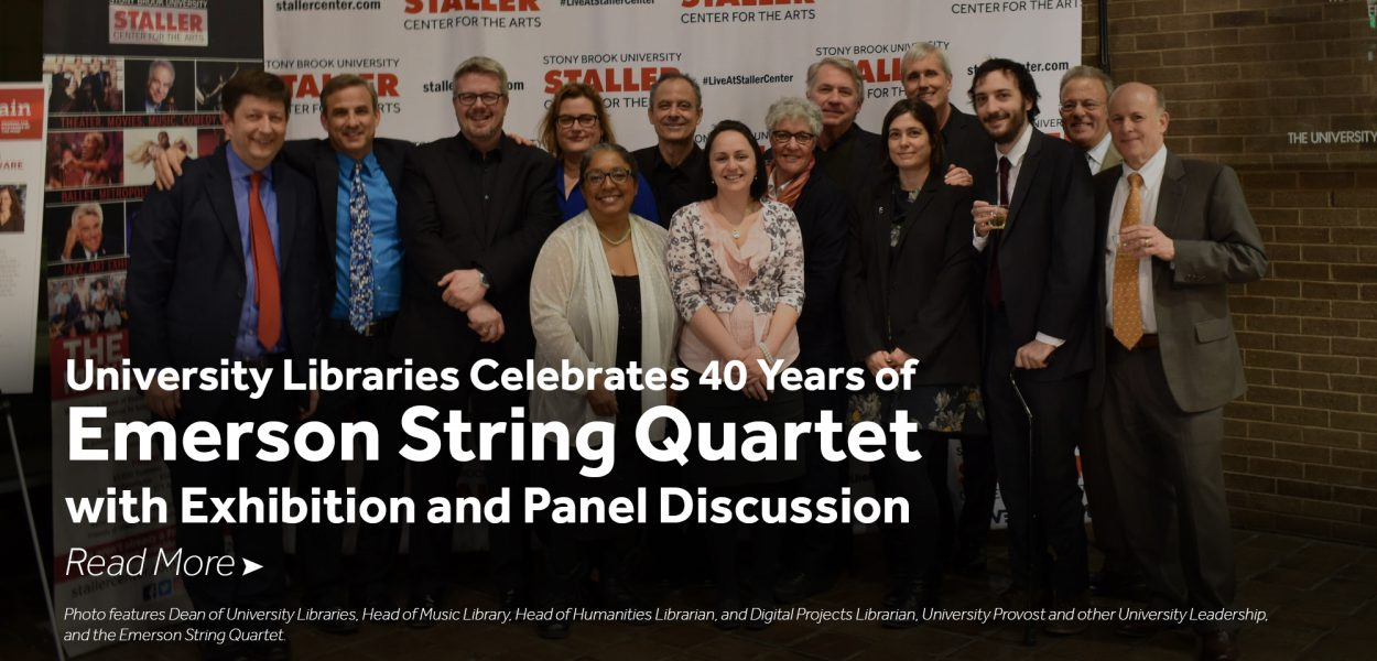 Emerson String Quartet at the library