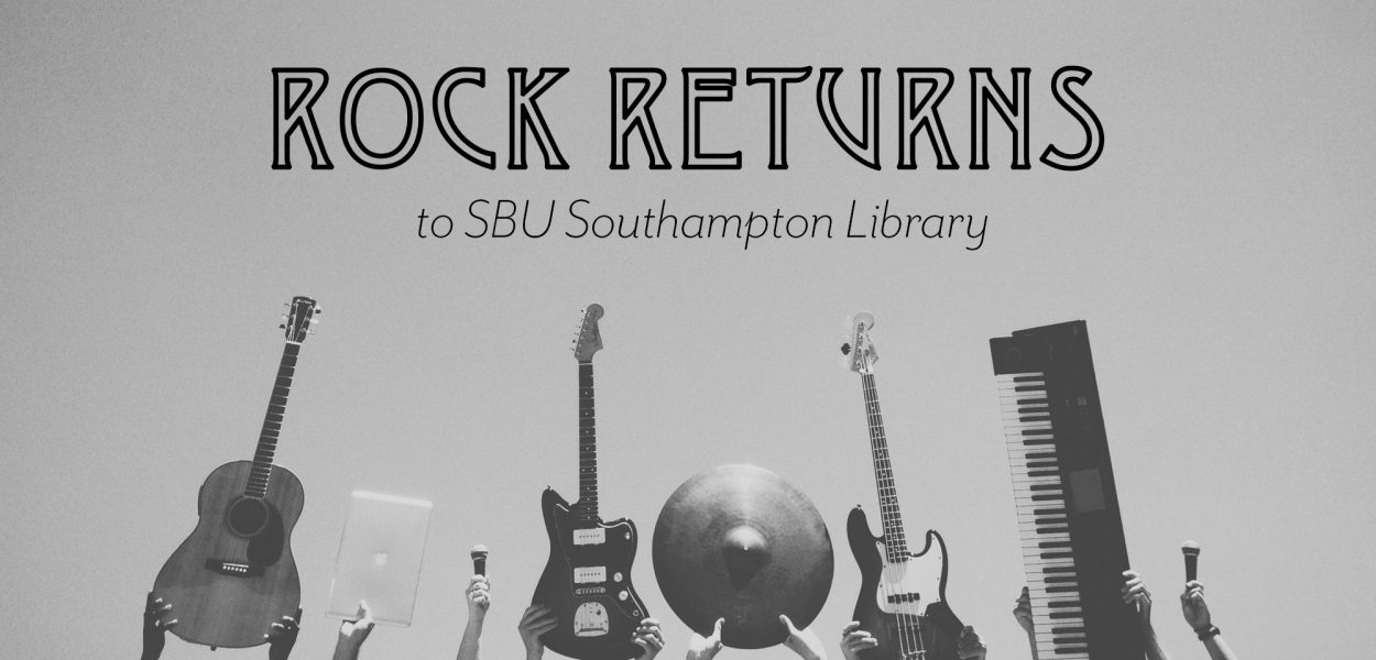 Rock Returns to southampton library