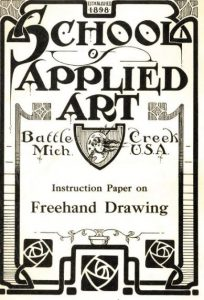 Pilsworth, Edward S. Instruction Paper on Freehand Drawing. [Battle Creek, Mich.]: The School, 1916.