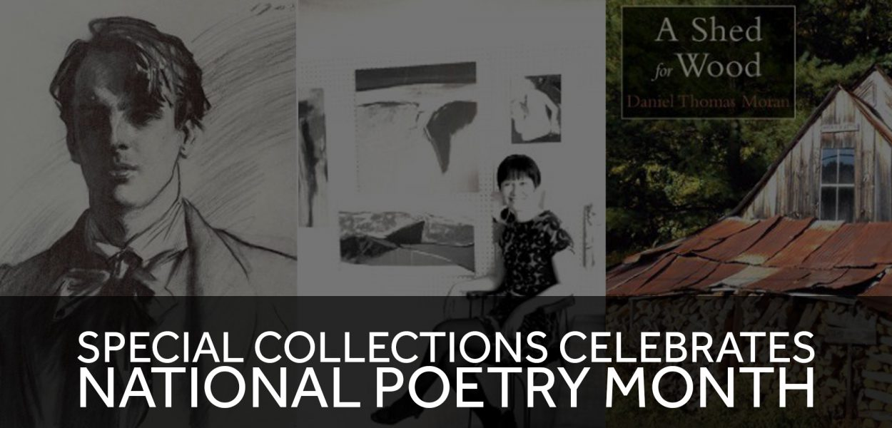 Special Collections celebrates national poetry month