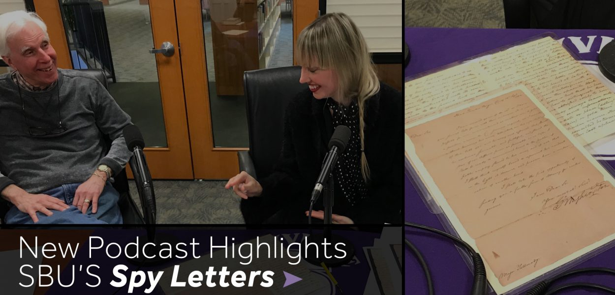 Podcast on Spy Letters