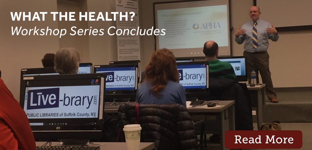 What the health workshop concludes