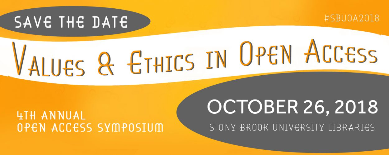 Open Access Symposium 2018 - Save The Date