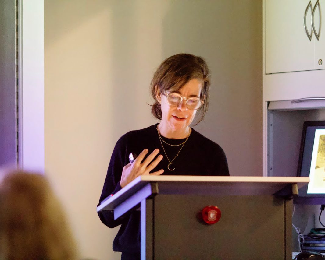 Prof. Katy Siegel, Eugene V. and Clare E. Thaw Endowed Chair in Modern American Art at SBU