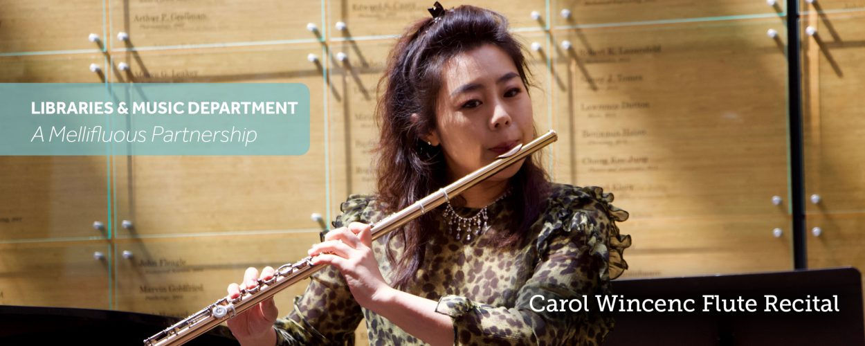 Carole Wincenc Flute Recital