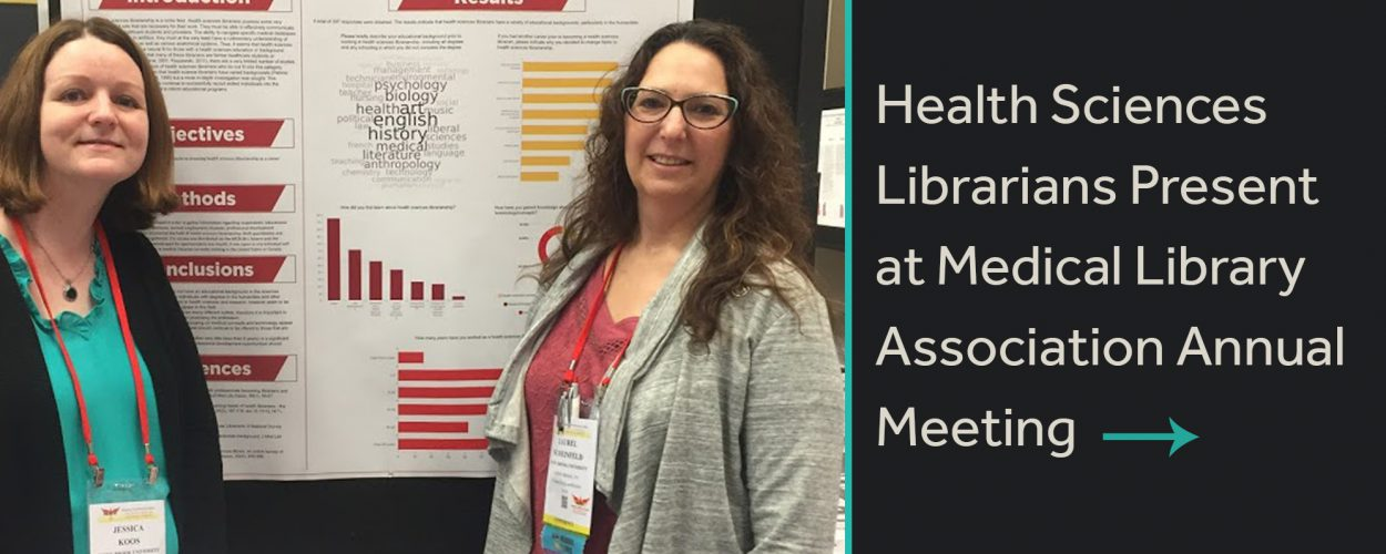 Health sciences librarians present at Medical Library Association Annual Meeting