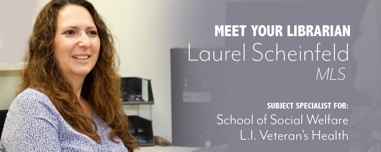 Laurel Scheinfeld, Health Sciences Librarian