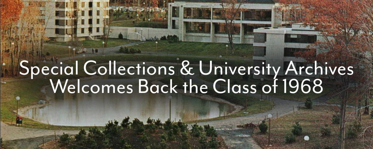 Class of 1968 visits Special Collections