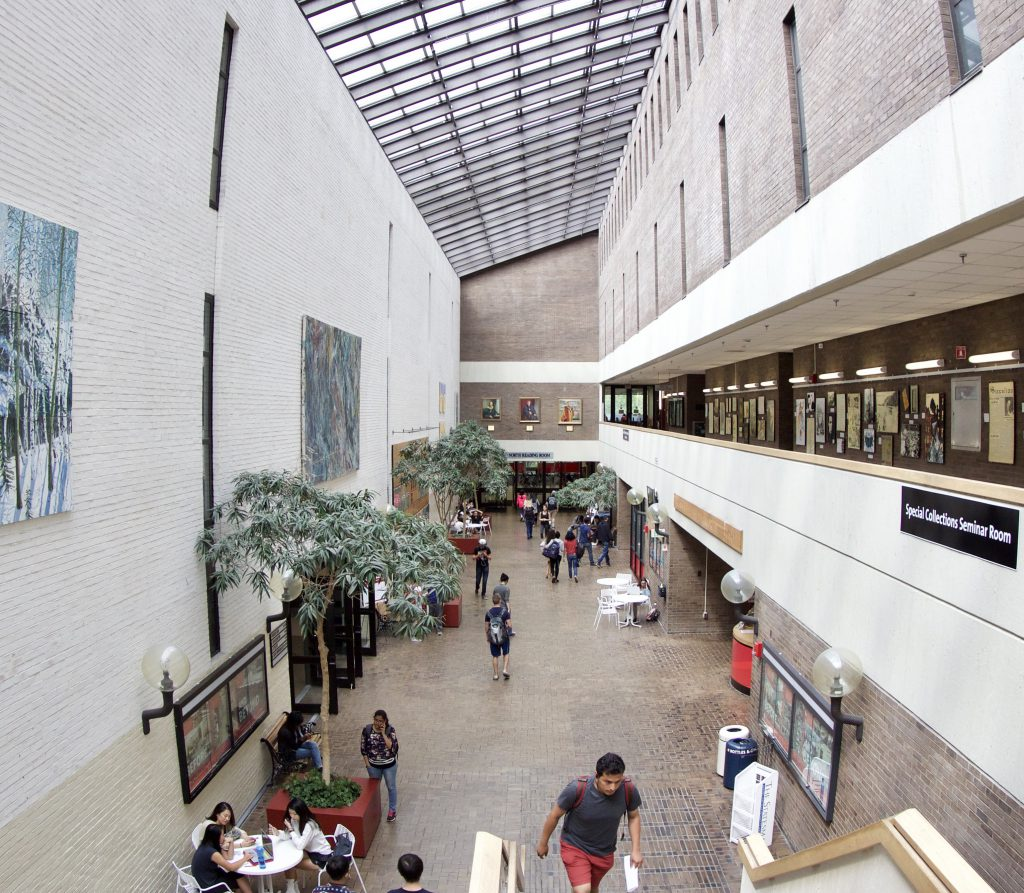 Melville Library Galleria