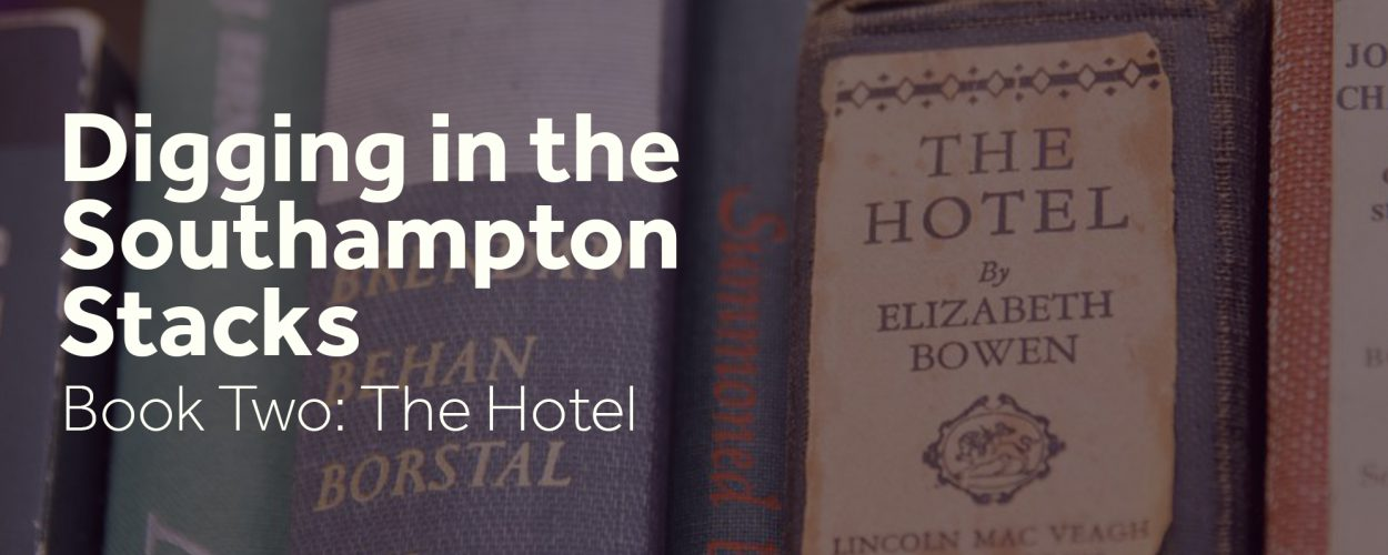 Digging in the southampton stacks: Book Two - The hotel
