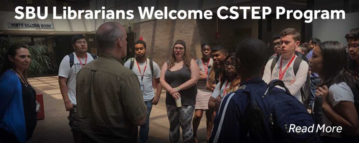 SBU Librarians Welcome CSTEP Program