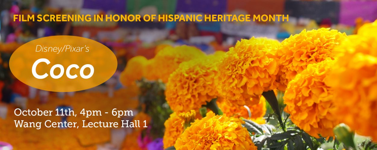 Screening of movie for hispanic heritage month