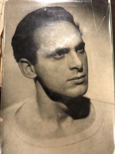 Professor Brioni's EGL 333/HUI 333 class visit. February 28, 2019. Portrait of Pietro di Donato, ca. 1939.