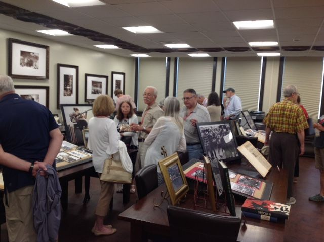 Class of 1969 visits Special Collections and University Archives, June 1, 2019.