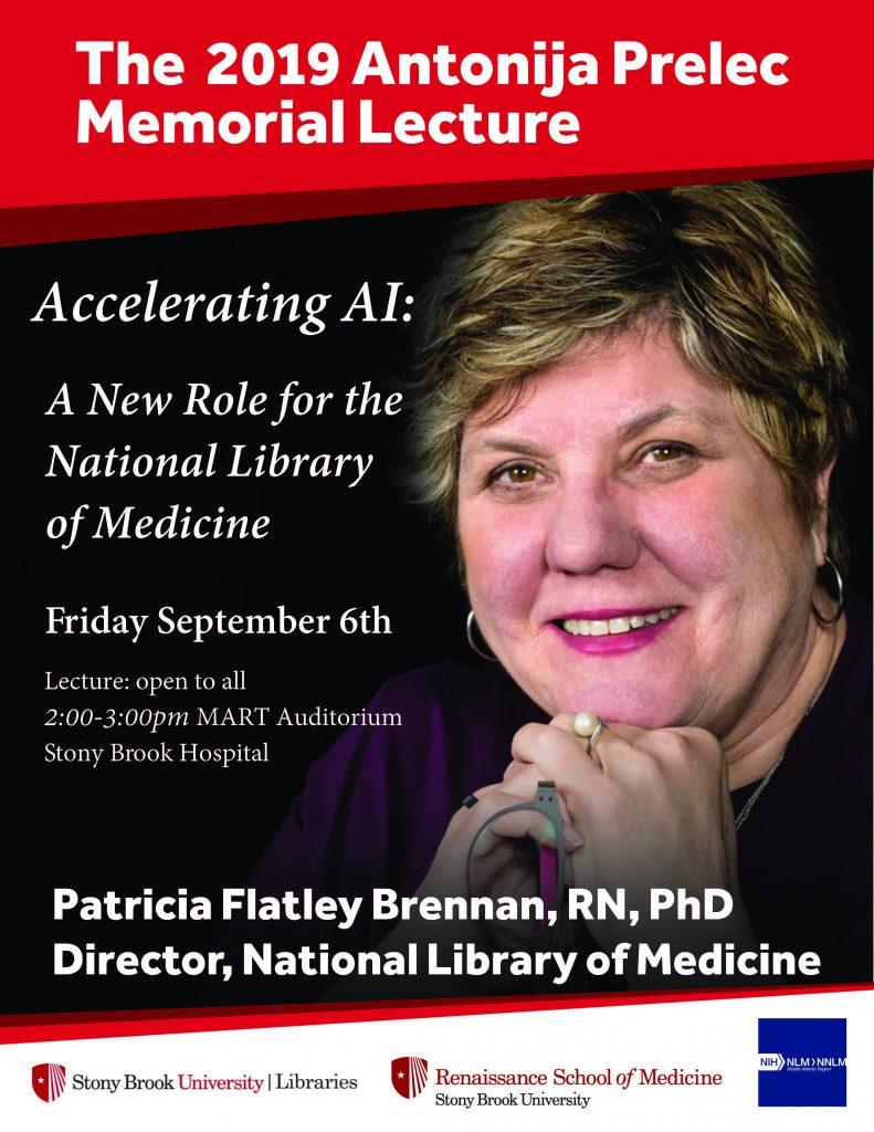Flyer advertising the 2019 Antonija Prelec Memorial Lecture