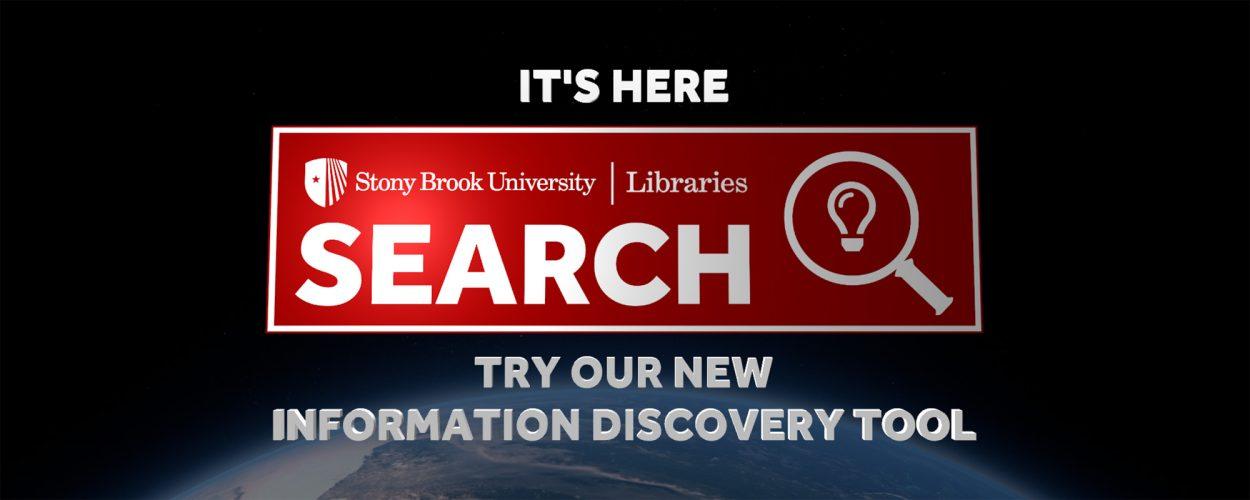 SBU Libraries' new search tool