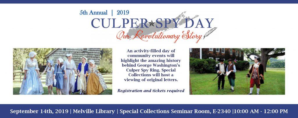 Culper Spy Day 2019