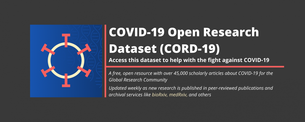 National Library of Medicine Releases New COVID-19 Open Research Dataset (CORD-19)