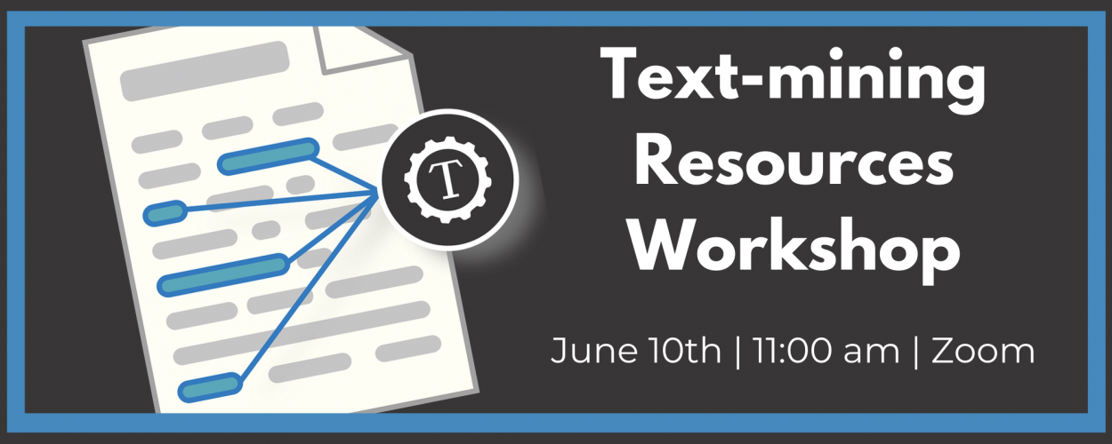 Text-mining Resources Workshop