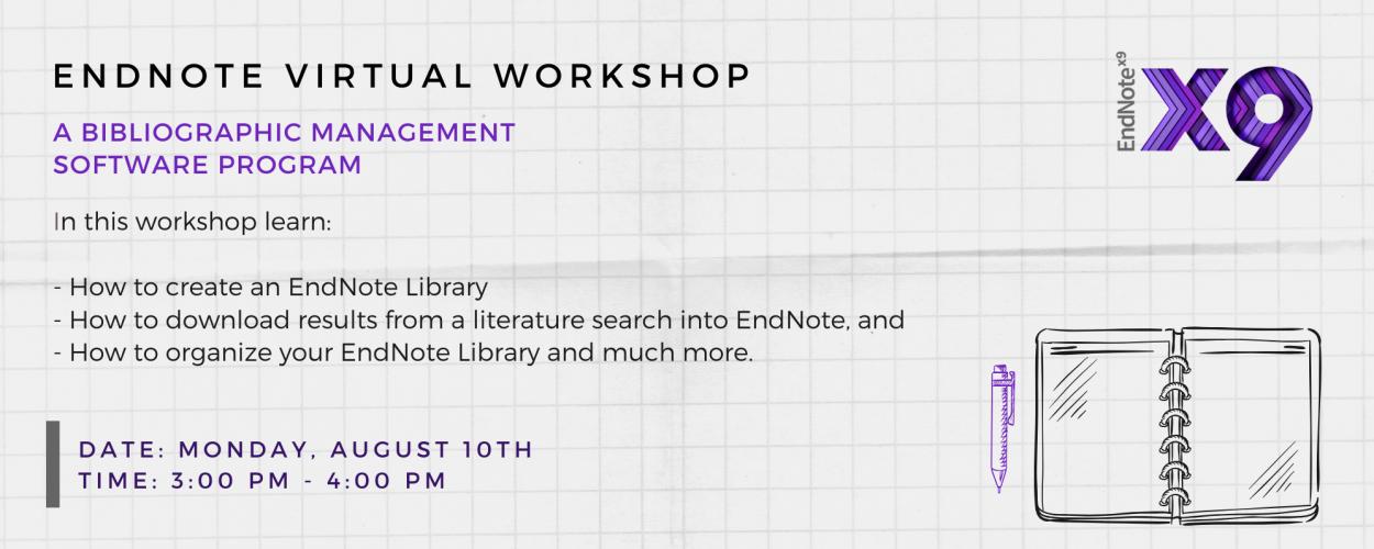 EndNote Virtual Workshop