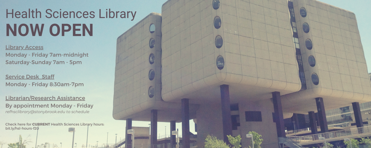 Health Sciences Library hours