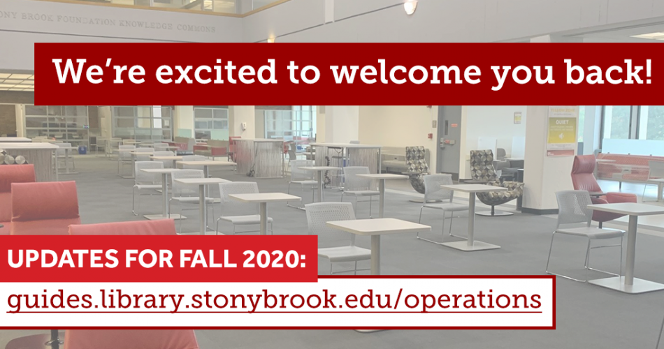 Fall 2020 Library Operations