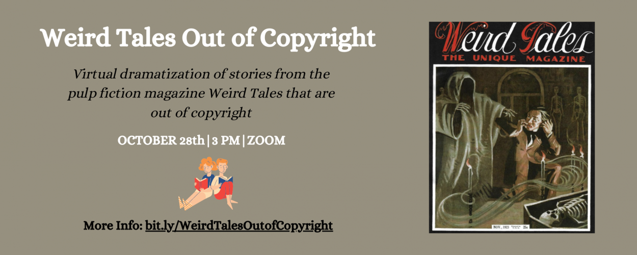 Weird Tales Out of Copyright
