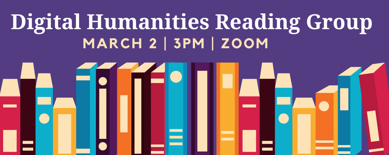 Digital Humanities Reading Group