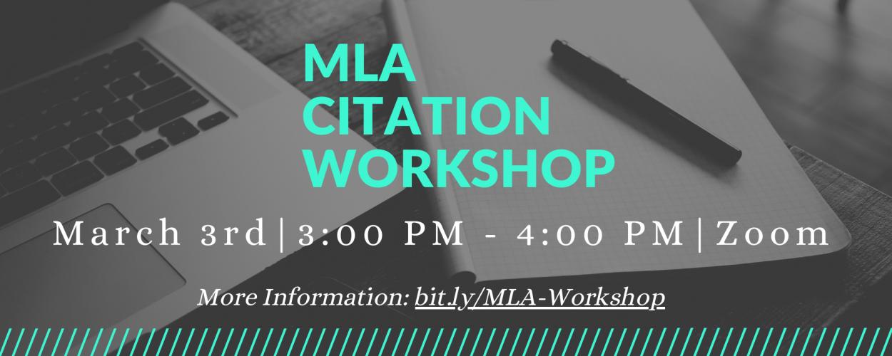 MLA Citation Workshop