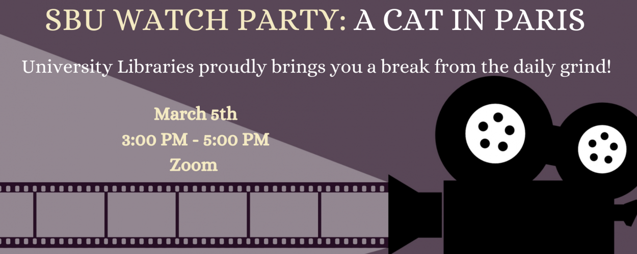 Watch Party: A Cat in Paris