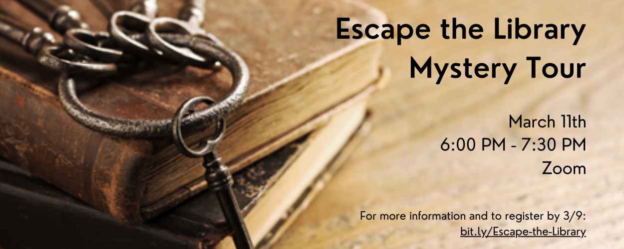 Escape the Library Mystery Tour