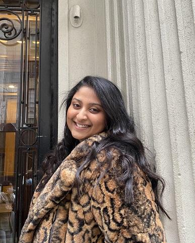Shreena Amin.