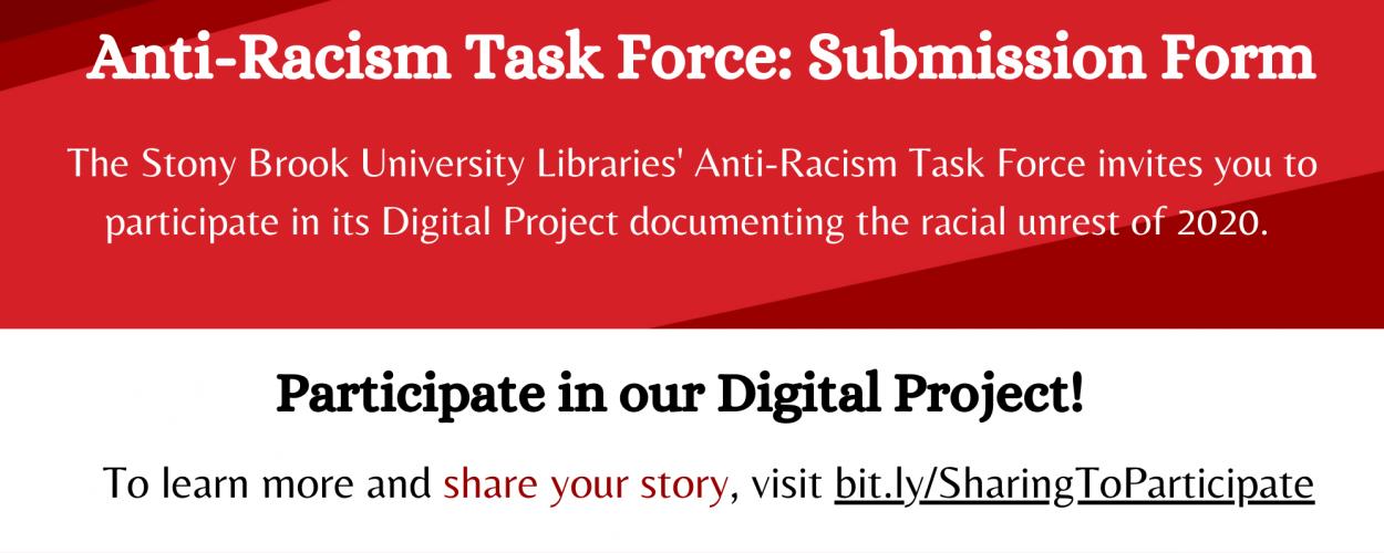 Stony Brook University Libraries' Anti-Racism Task Force