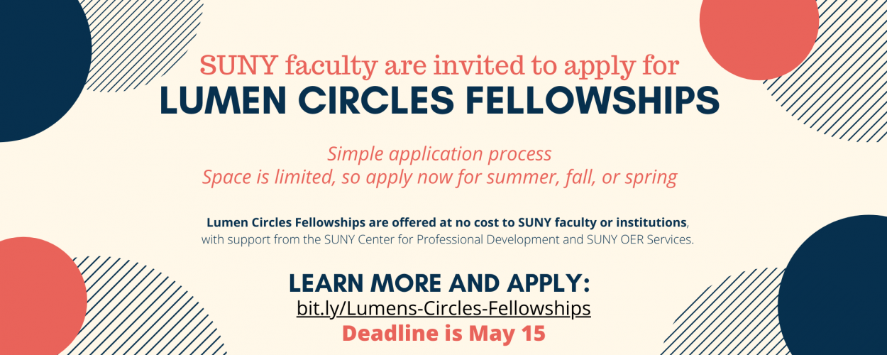 Lumen Circles Fellowships: Learning Communities for Effective Teaching