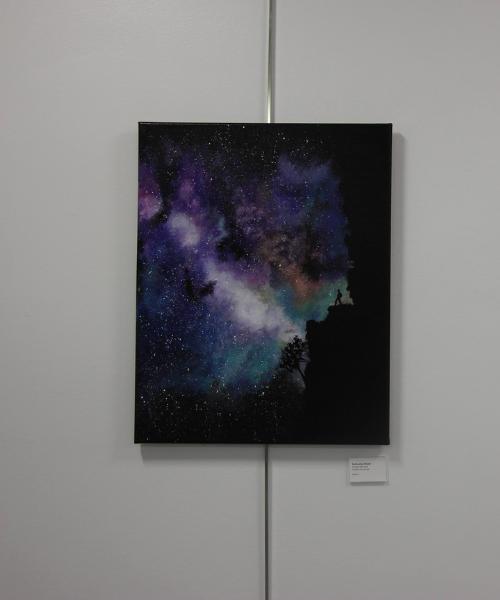 Student artwork at Art Show
