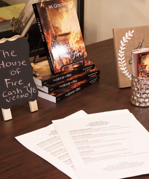 """""""House on Fire"""" book on display at workshop"""