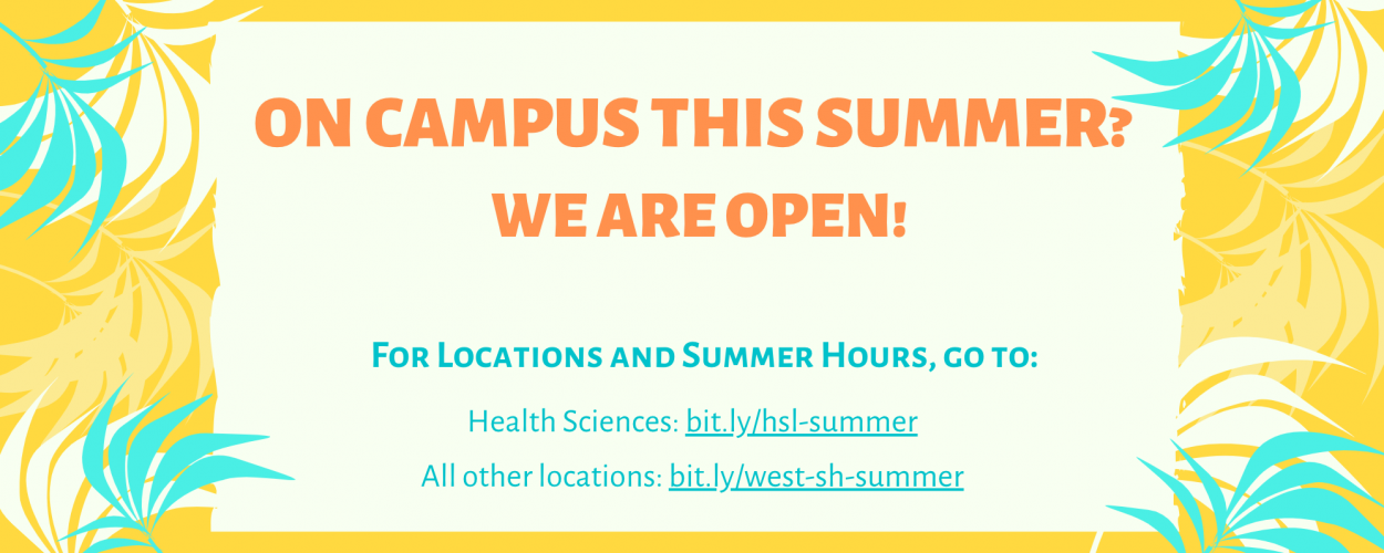 Stony Brook University West & Southampton Campus Libraries Hours