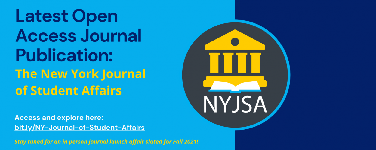 Latest Open Access Journal Publication: The New York Journal of Student Affairs