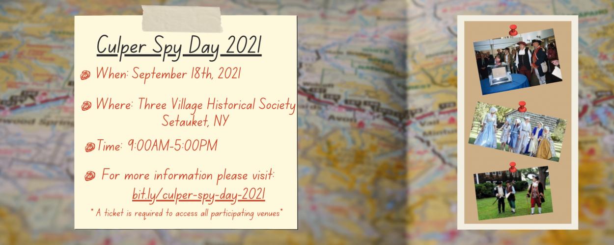 Culper Spy Day 2021